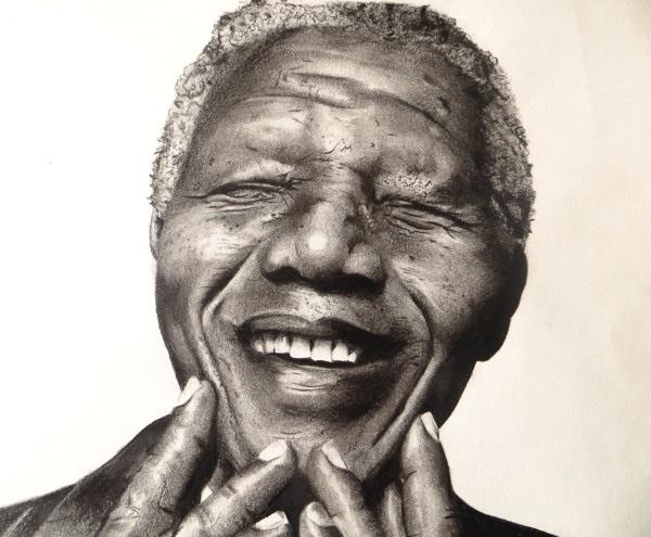 Nelson Mandela par dbishoptattoo